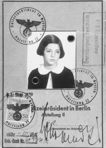 **Gerda Levy vertrok in augustus '39 vanuit Berlijn met een kindertransport.